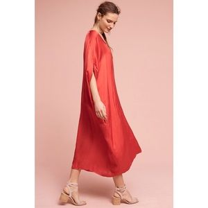 Anthropologie Stark Scarlette Caftan Dress
